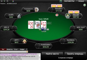 Покерний стіл на PokerStars