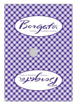 У 2012 році в казино Borgata використовувалися карти з такою сорочкою.