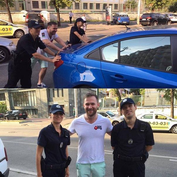 Євген Качалов і київська поліція