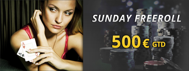 Sunday Freeroll 500€ GTD